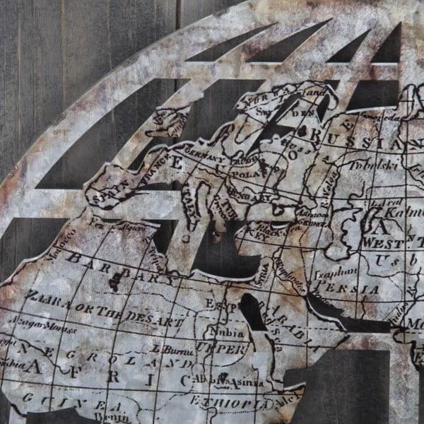 Dřevěná nástěnná dekorace Mauro Ferretti Metal World Tenebris,60x80cm