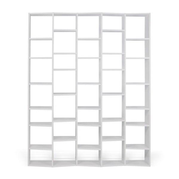 Valsa fehér könyvespolc, szélesség 182 cm - TemaHome