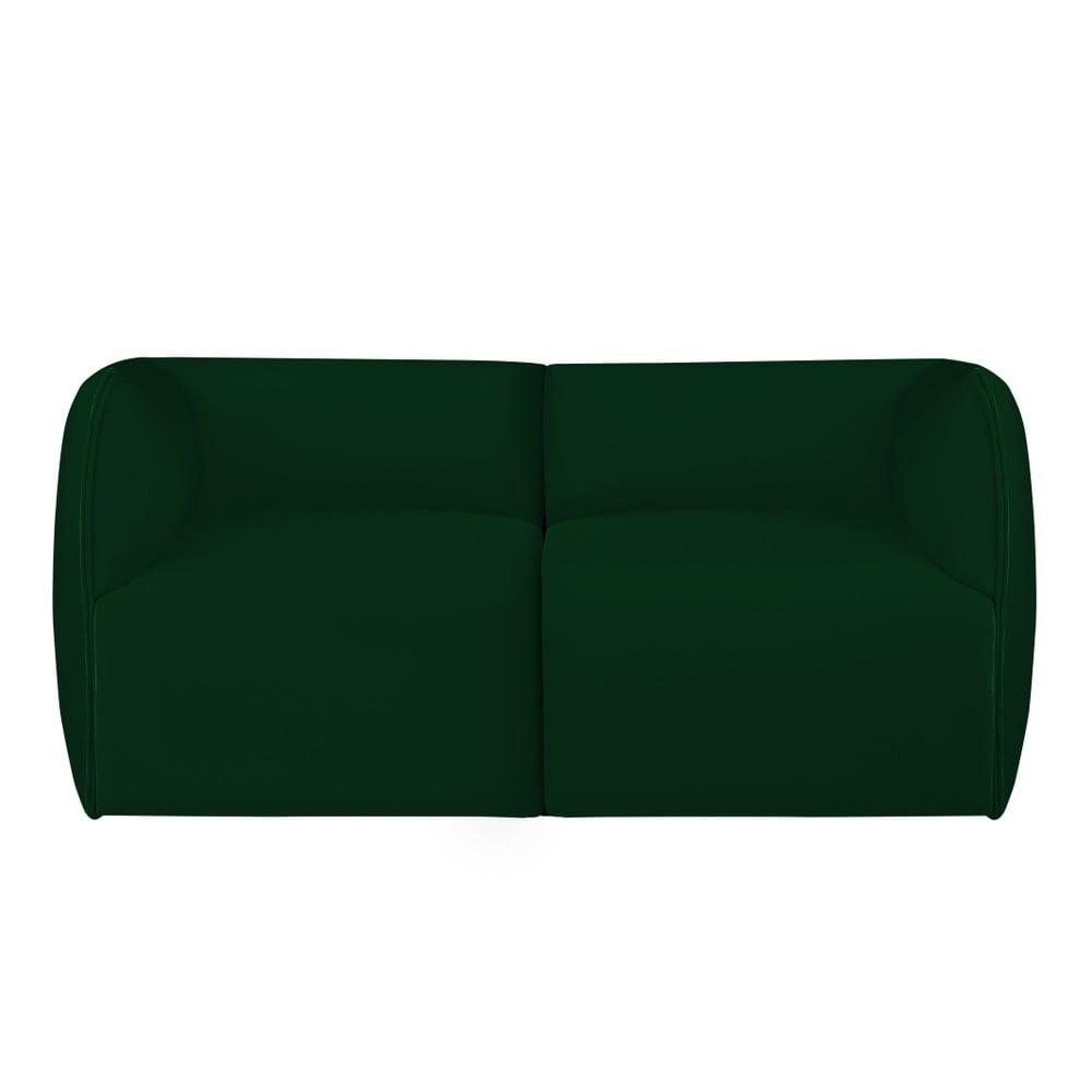 Zelená modulová dvoumístná pohovka Norrsken Ebbe