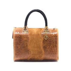 Kožená kabelka Isabella Rhea 822 Cognac