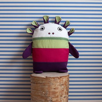 Mâncătorul de pijămăluțe Bartex, 35 x 30 cm, roz - verde