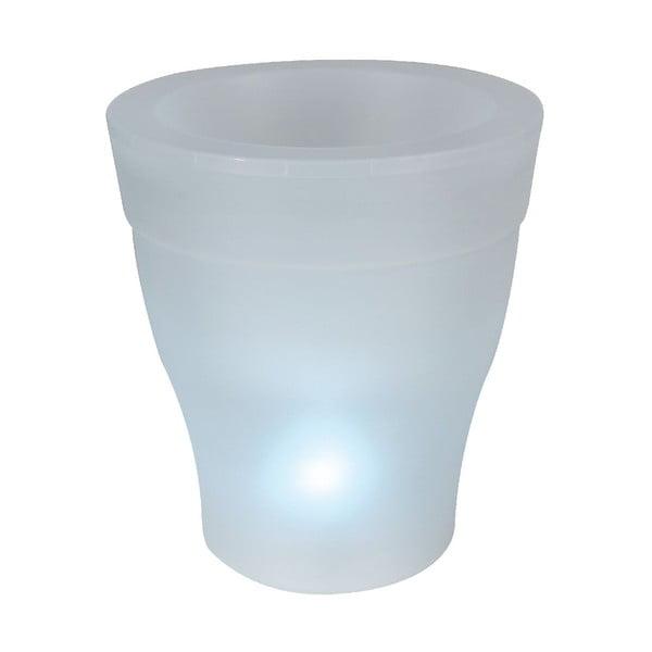 Venkovní květináč s LED světlem Ilar