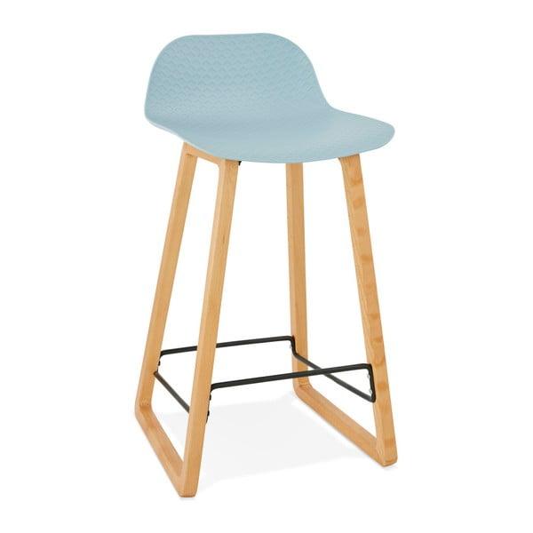 Světle modrá barová židle Kokoon Astoria