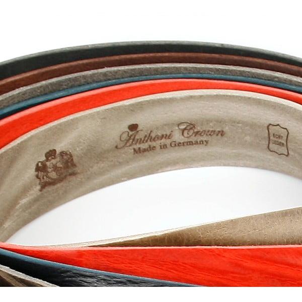 Pánský kožený pásek 3PJ30 Cognac, 110 cm