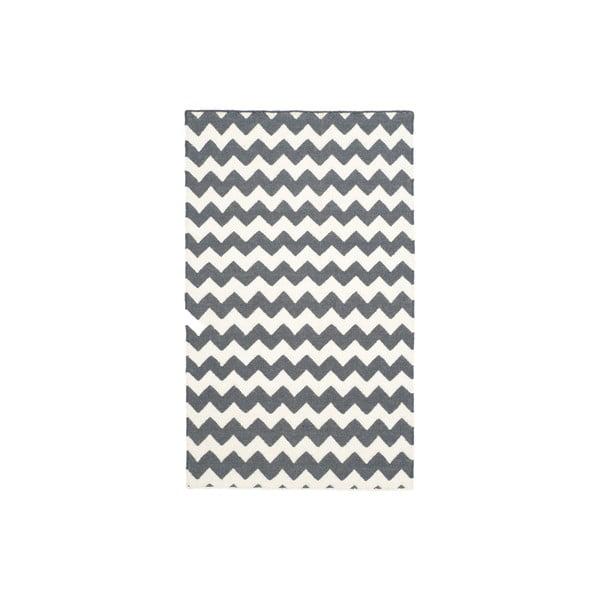 Šedý koberec Safavieh Blair, 152 x 91 cm