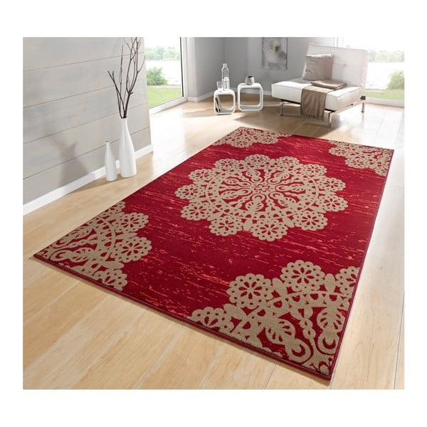 Červený koberec Hanse Home Gloria Lace, 160x230cm