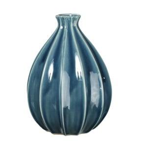 Keramická váza Iza Blue, 25 cm