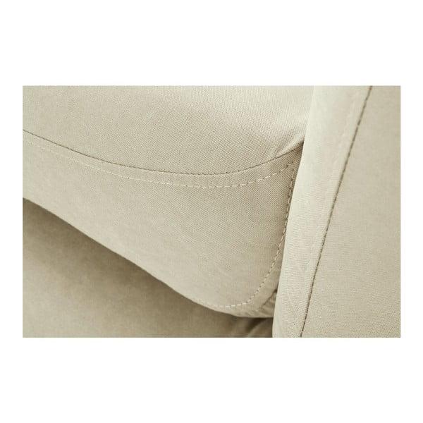 Pohovka Stella Grand Cream s lenoškou na pravé straně