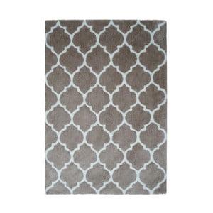 Šedohnědý koberec Smooth, 80x150cm