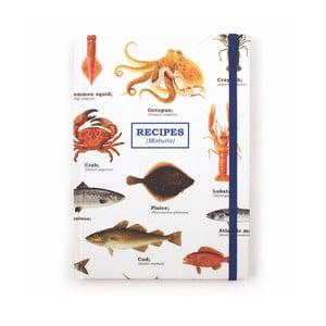 Agendă rețete Gift Republic Sea Life