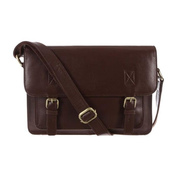 Dámská kožená taška Arabella Cognac Small Satchel