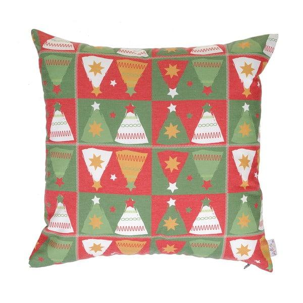 Vianočná obliečka na vankúš Apolena Shine Tree, 43×43 cm