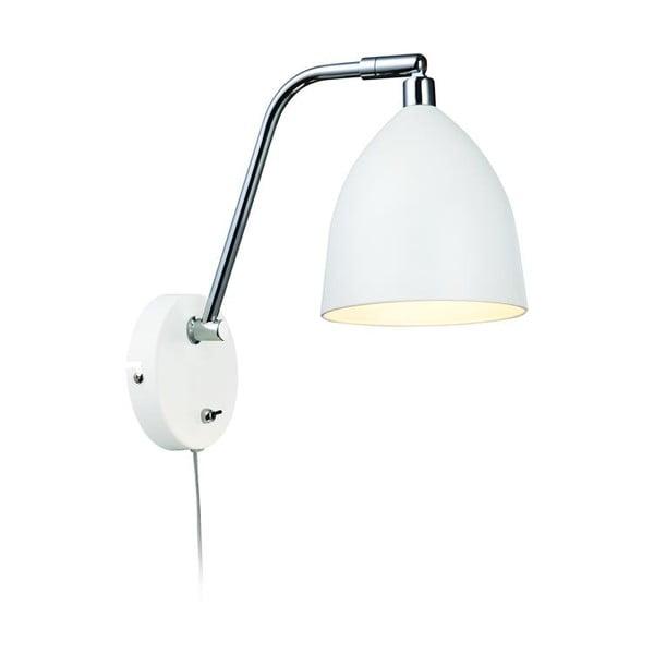 Bílé nástěnné světlo Markslöjd Fredrikshamn