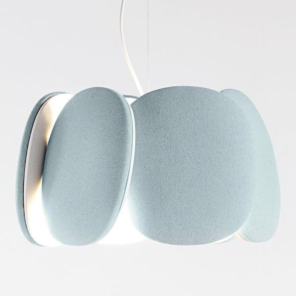Stropní světlo Bloemi Light Blue, 40 cm