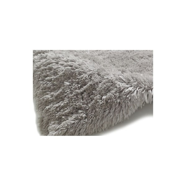Covor țesut manual Think Rugs Polar PL Light Grey, 60 x 120 cm, gri deschis