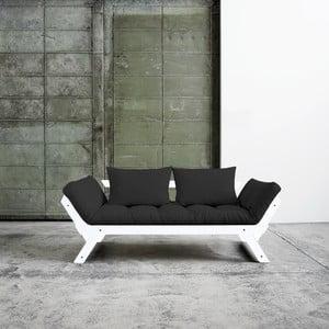 Canapea extensibilă Karup Bebop White/Gray