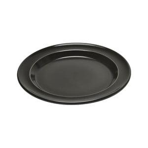 Pepřově černý dezertní talíř Emile Henry, ⌀ 21 cm