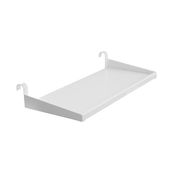 Półka w białej barwie do łóżka dziecięcego Flexa Classic