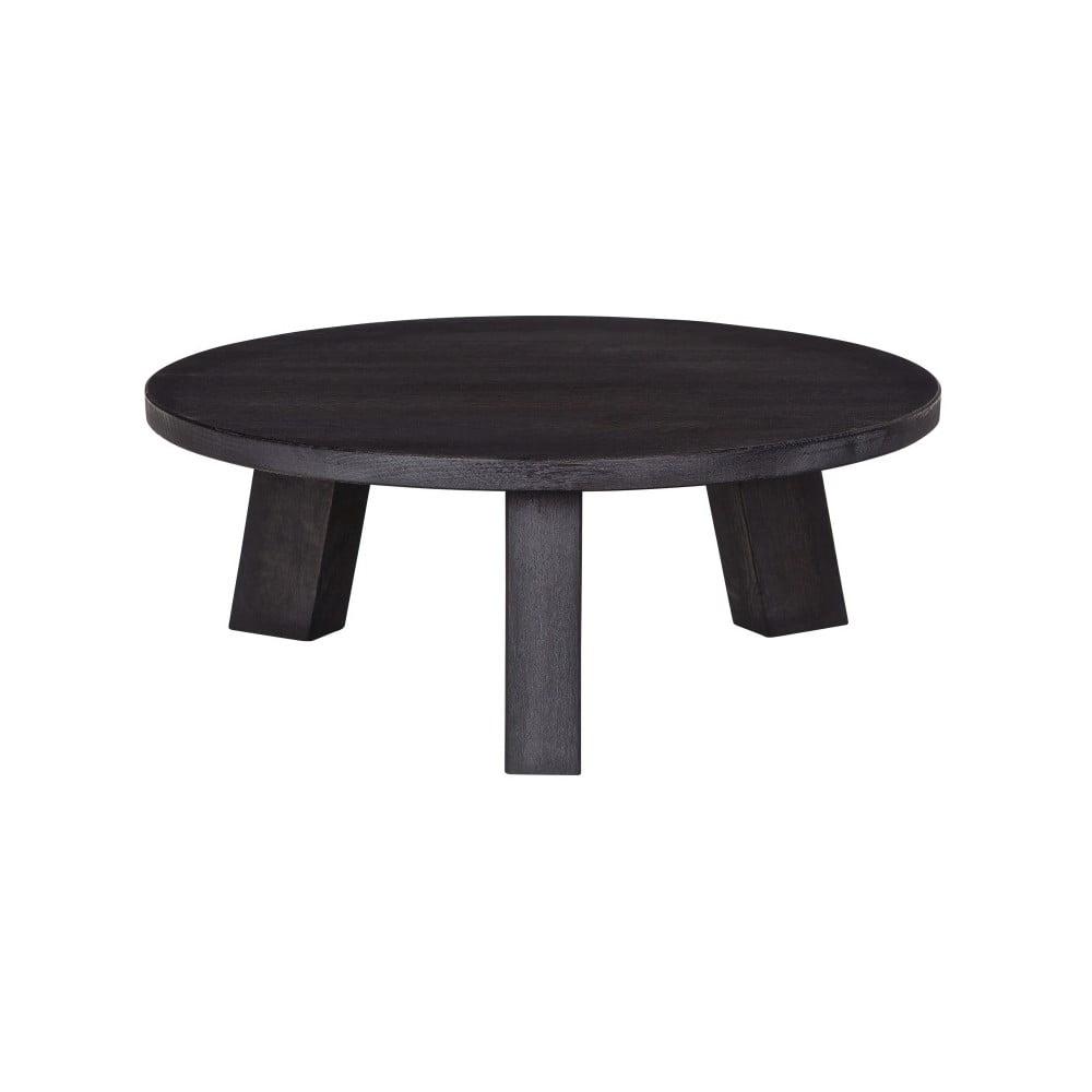 Černý konferenční stolek De Eekhoorn Rhonda