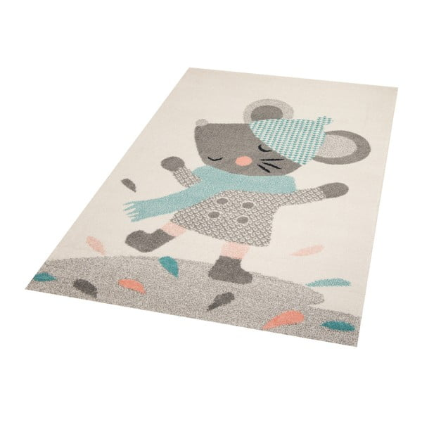 Dětský koberec s motivem myšky Zala Living, 170 x 120 cm