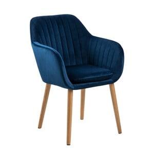 Tmavě modrá jídelní židle Actona Emilia Vic