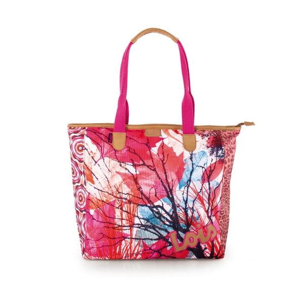 Plážová taška Lois Beach Strawberry
