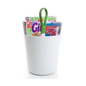 Magazínová váza, zelená