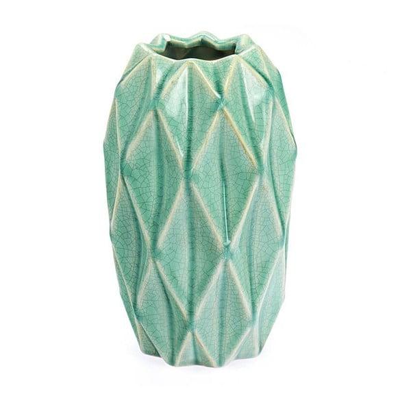 Keramická váza Light Green, 23 cm