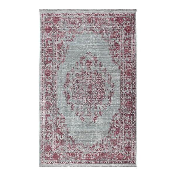 Eco Rugs Old Times világos rózsaszín szőnyeg, 80 x 150 cm
