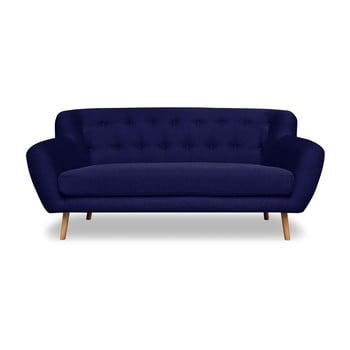 Canapea Cosmopolitan design London, 162 cm, albastru închis imagine