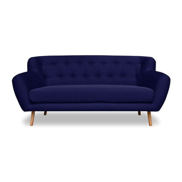 Granatowa sofa 2-osobowa Cosmopolitan design London