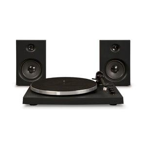 Černý gramofon Crosley T150