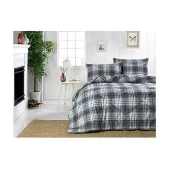 Cuvertură matlasată pentru pat dublu Country Harmony Black, 195x215cm de la Eponj Home