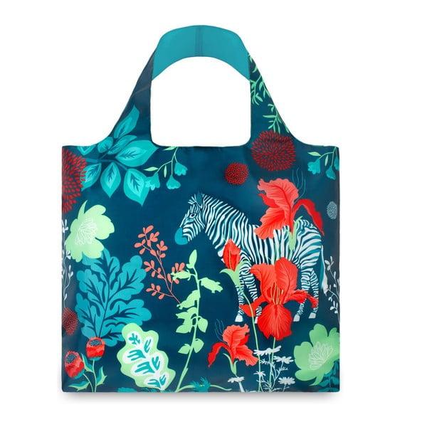 Skládací nákupní taška Zebra