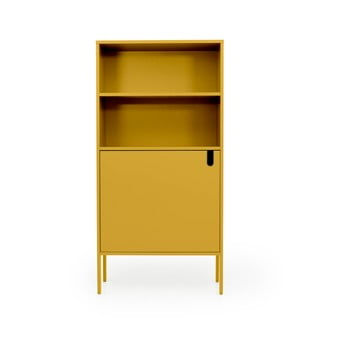 Dulap Tenzo Uno, lățime 76 cm, galben de la Tenzo