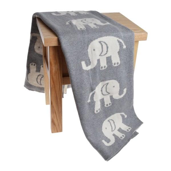 Dětská deka Elephant, 80x100 cm