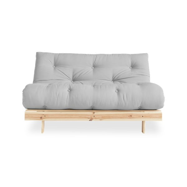 Sofa rozkładana Karup Design Roots Raw/Light Grey