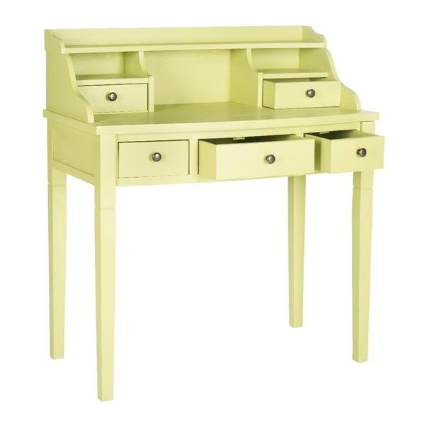 Žlutý psací stůl Safavieh Olivia