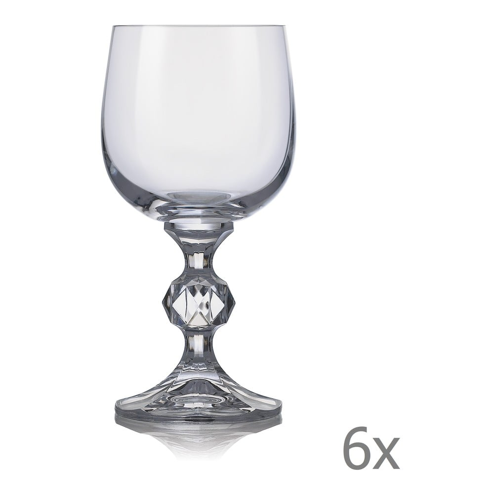 Sada 6 sklenic na víno Crystalex Claudia,190ml