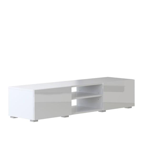 Podium fehér TV állvány, szélesség 140 cm - Symbiosis