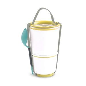Žlutý obědový box Black + Blum Pot, 800 ml