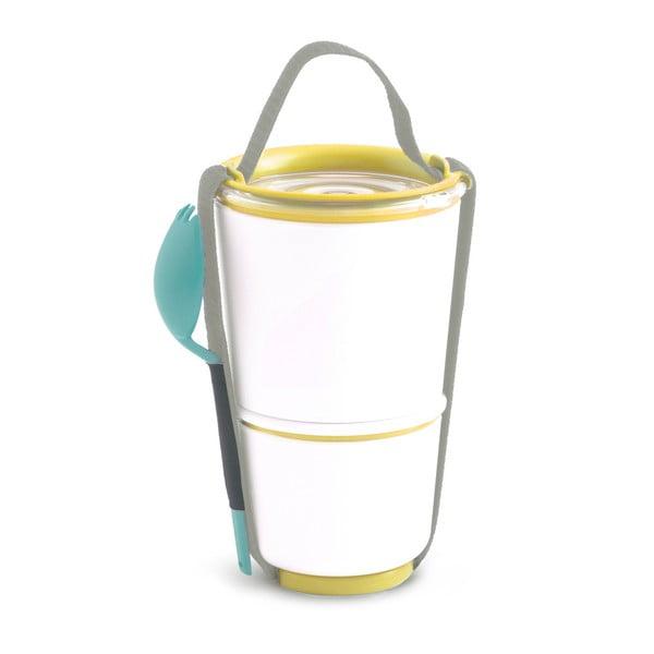 Żółty pojemnik obiadowy Black + Blum Pot, 800 ml
