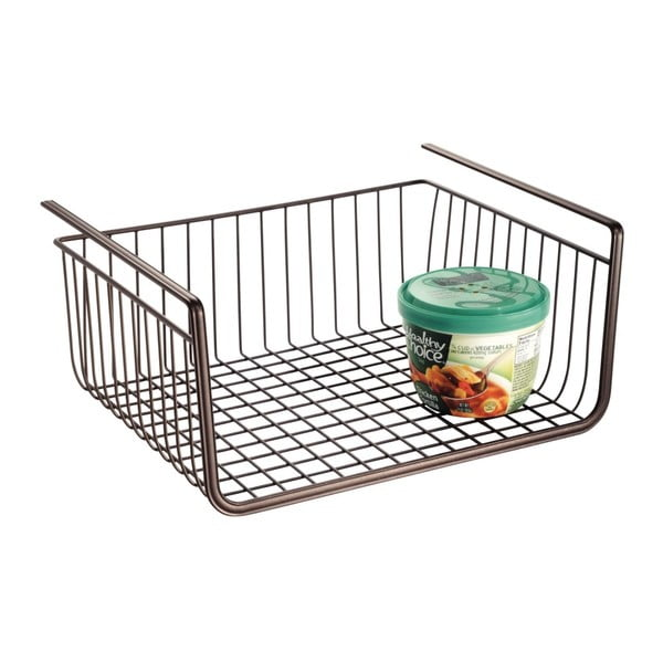 Kovový zavěsitelný úložný košík InterDesign, 32x27,5cm