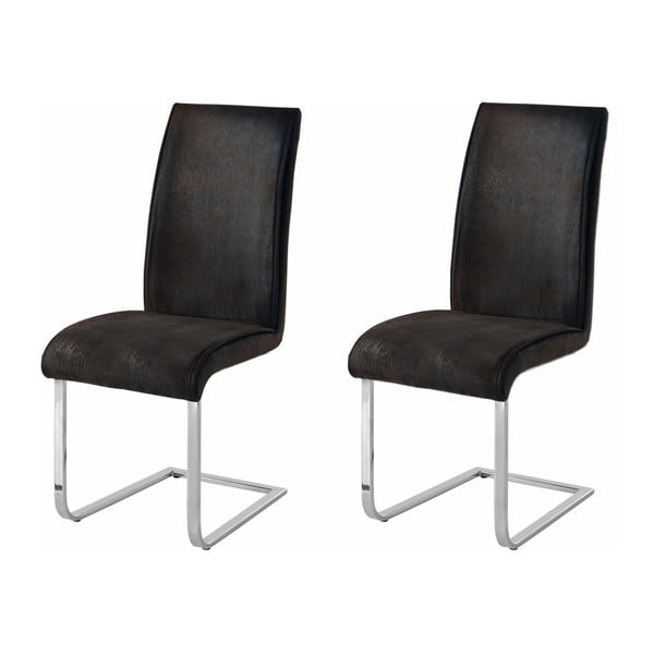 Manto 2 darab sötétszürke szék - Støraa