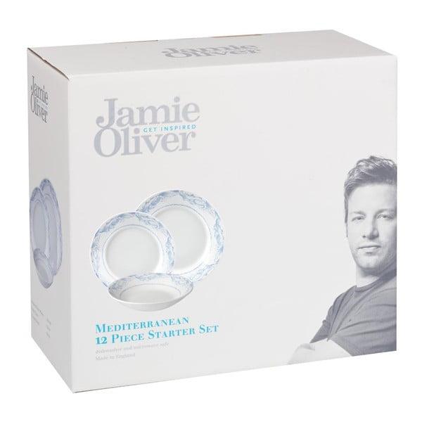 Sada 12 talířů Mediterranean Jamie Oliver