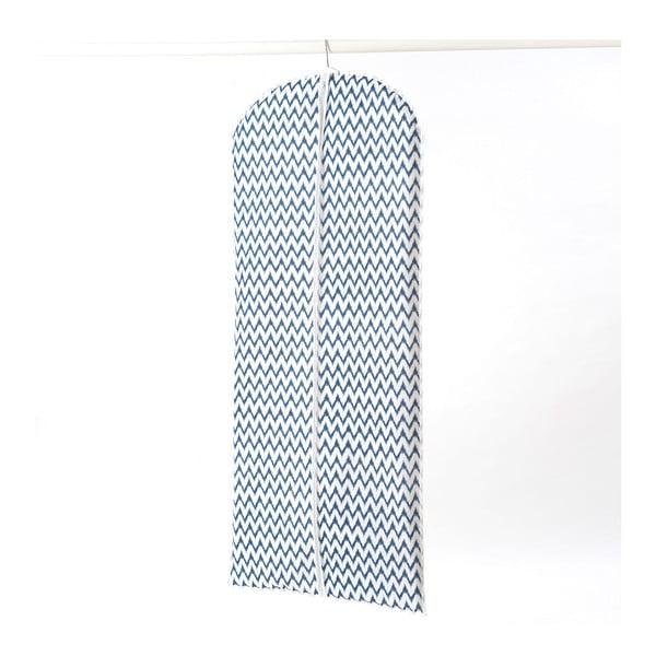 Textilní závěsný obal na šaty Compactor Zig Zag, 137 cm