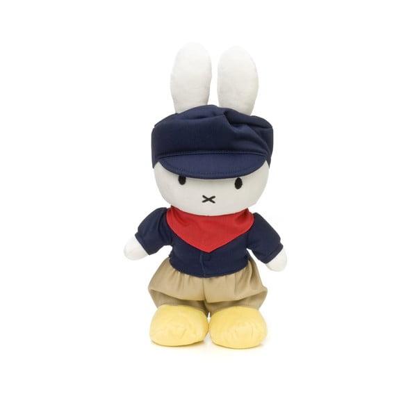 Plyšový králík Miffy farmář, 23 cm