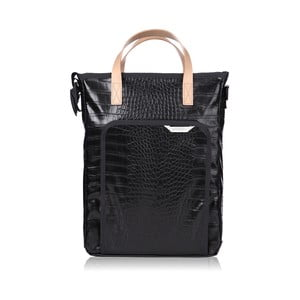 Taška R Tote 103 Crocodile, black
