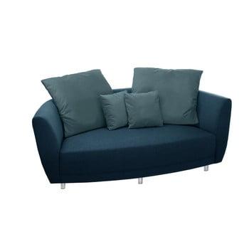 Canapea cu două locuri Florenzzi Viotti Turquoise