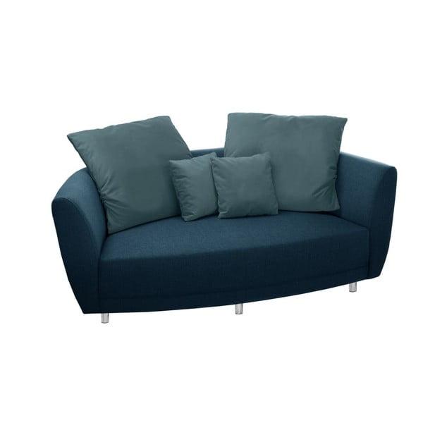 Turkusowa sofa 2-osobowa Florenzzi Viotti